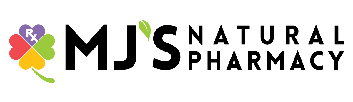 MJ'S Natural Pharmacy Logo